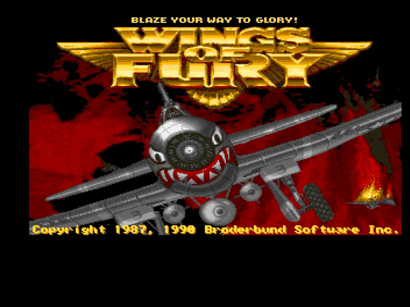 Wings of fury for Wings of fury