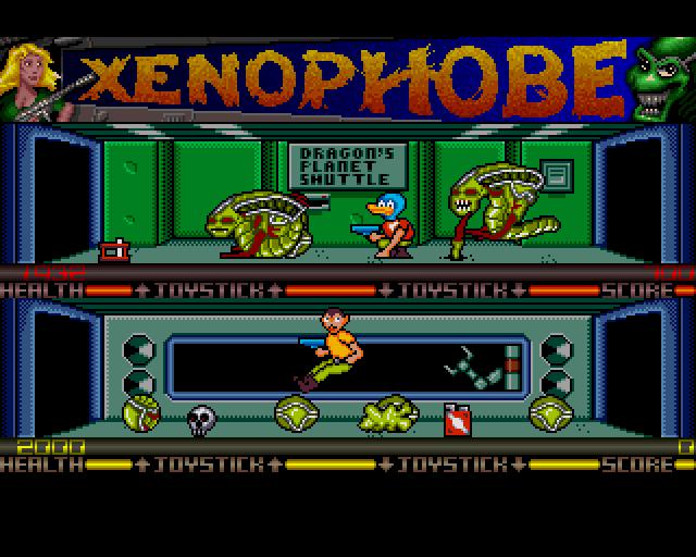 classicamiga.com - Xenophobe Xenophobe Game