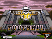 Brutal Sports Series Football