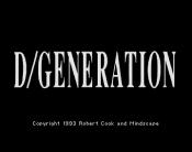 D/Generation
