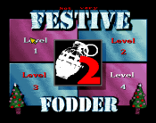 Not Very Festive Fodder