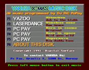 Yakuza X-Mas Music Disk
