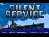 Silent Service: The Submarine Simulation