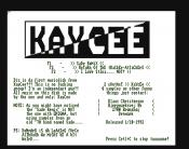 Kaycee Music Disk