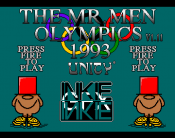 Mr. Men Olympics, The
