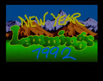 New Year Lemmings 1991/92