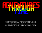 Adventures Through Time