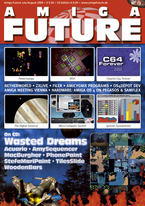 Amiga Future Issue 79 Cover
