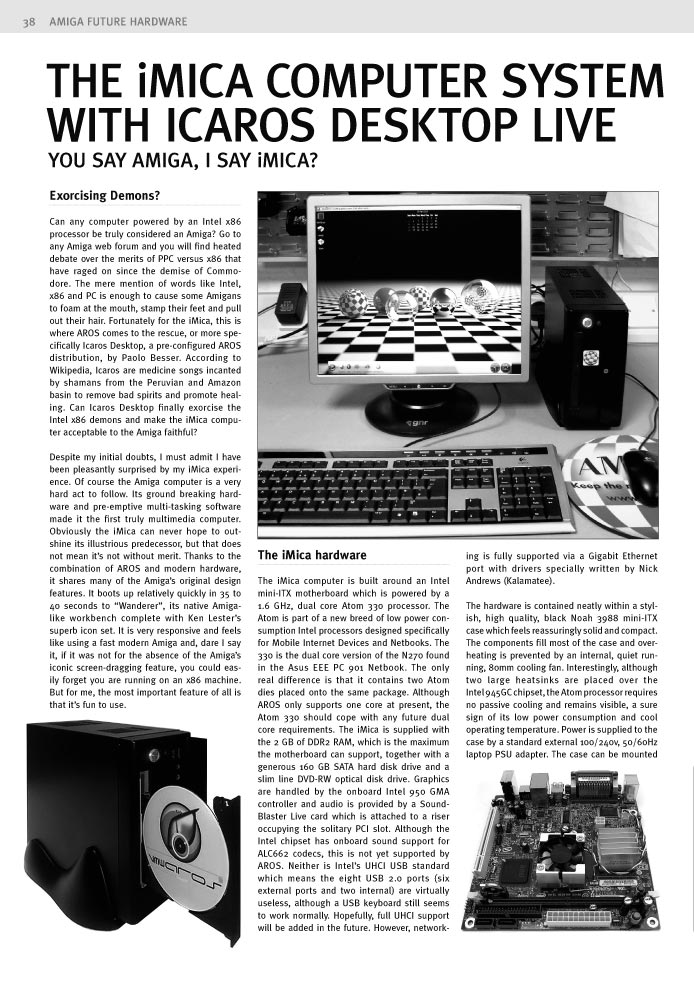 Amiga Future Issue 79 - Page 38
